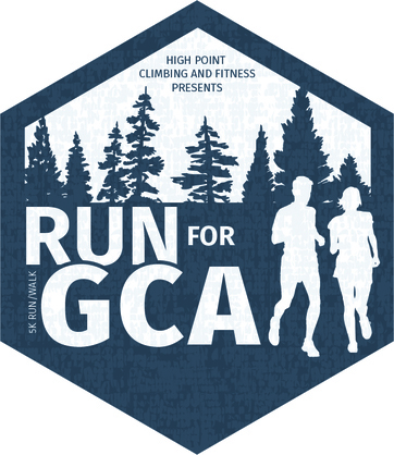 Run for gca logo