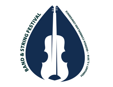 Band and string festival 2018 logo
